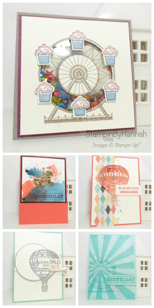 Stampin' Up! UK OnStage Display Board Stamper Makes 2016