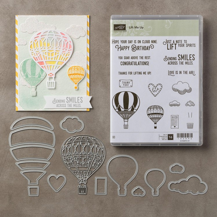 Lift Me Up Online Card Class from StampinByHannah Stampin' Up! UK Independent Demonstrator