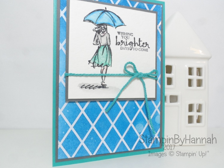 Watercolour Pencils and Beautiful you from Stampin' Up! UK