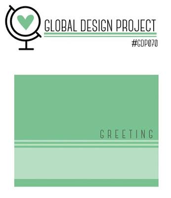 Global Design Project Stampin' Up! Cardmaking challenge
