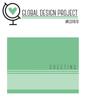 Global Design Project Stampin' Up! Cardmaking challenge