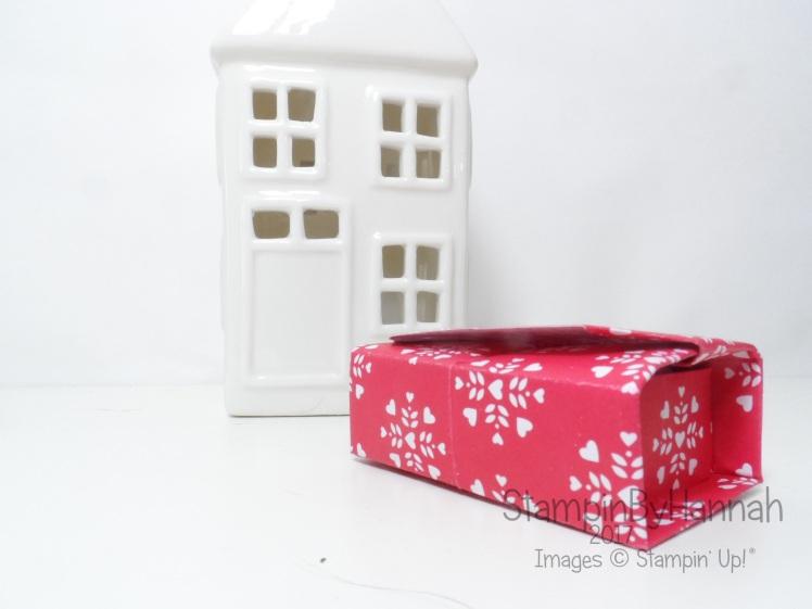Sending Love Designer Series paper Origami Box Stampin' Up! UK