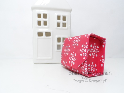 Love Hearts Week Origami Box Video Tutorial using Sending Love Designer Series Paper from Stampin' Up! UK