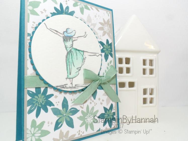 Make It Monday Watercolour Card using Beautiful You from Stampin' Up! UK