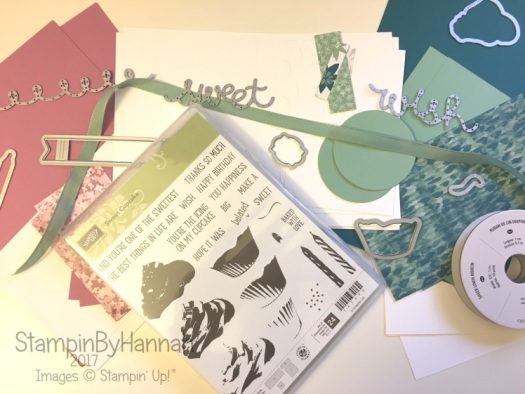 Online Card Class using Sweet Cupcake from Stampin' Up! UK