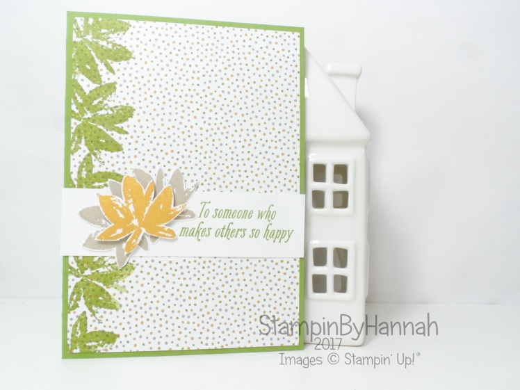Sale-a-bration Avant Garden just because card using Stampin' Up! products