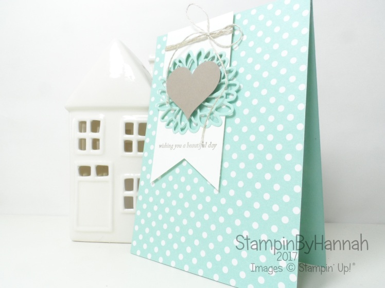 Global Design Project 074 Wedding Love Congratulations Card using Special Reason from Stampin' Up! UK
