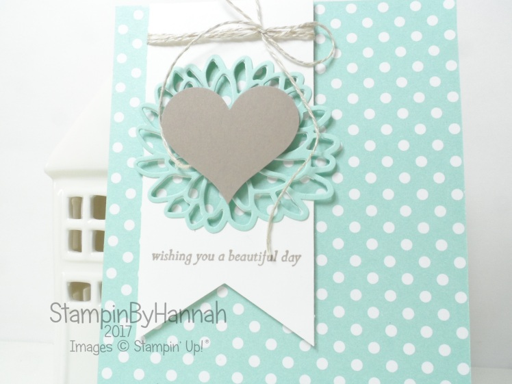 Global Design Project Love Card using Special Reason from Stampin' Up! UK
