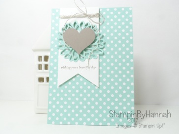 Global Design Project 074 Sketch challenge Special Reason Love Card using Stampin' Up! products