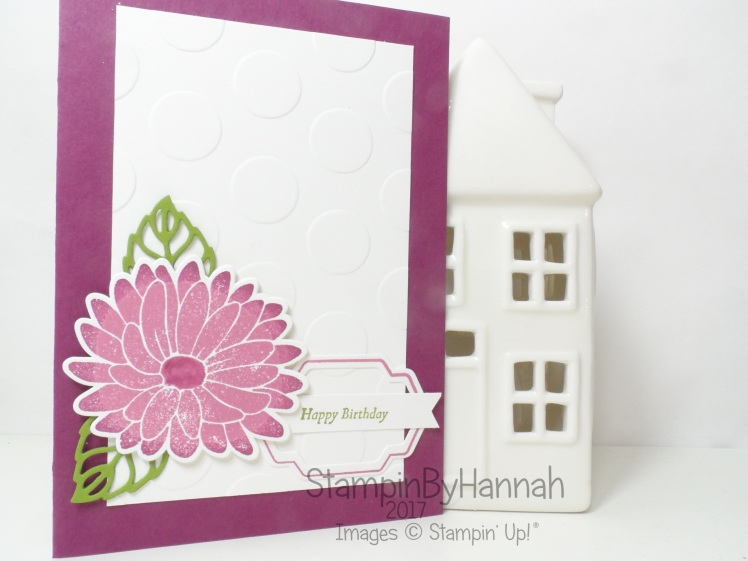 Pretty Floral Birthday Card using Special Reason from Stampin' Up! UK