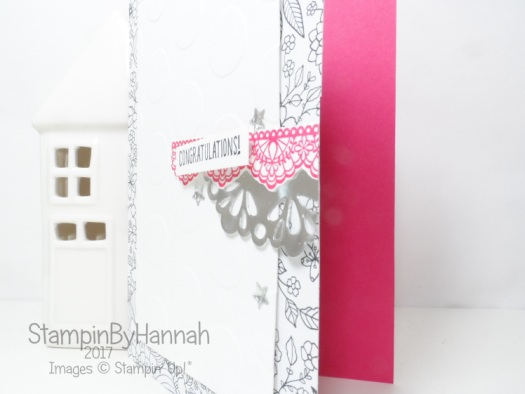 Make It Monday Cardmaking Tutorial Quick and Easy Congratulations Card