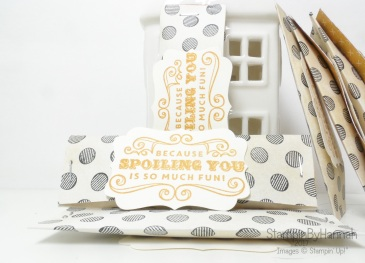 3D Friday video Tutorial March Customer Thank you sweet treats using Urban Underground Designer Series Paper from Stampin' Up!
