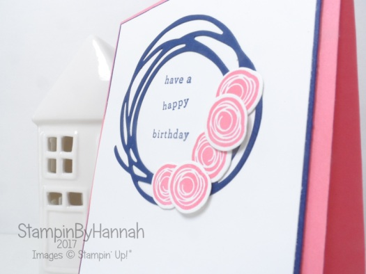 Global Design Project #081 Birthday Card using Endless Birthday Wishes and Swirly Bird from Stampin' Up!