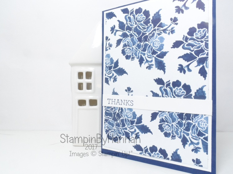 Make It Monday Video Tutorial How to Make 6 Simple Thank You Cards using 1 sheet of Floral Boutique Designer Series Paper from Stampin' Up!