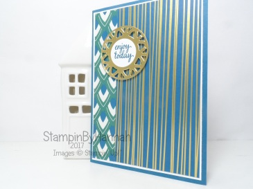 Eastern Palace Suite Gold Foiled Card using Stampin' Up! products
