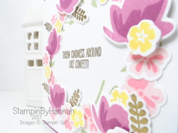 Stinkin Inkers Card making challenge Spring Themed card using Jar of Love from Stampin' Up!