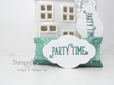 Pootles Papercraft Team Craft Retreat Swaps using Happy Birthday Gorgeous from Stampin' Up!