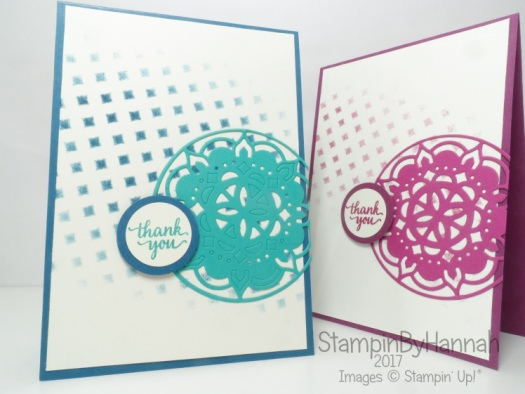 Cardmaking How To video How to use Masks in card making using Pattern Party Masks from Stampin' Up!