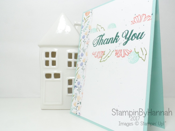 StampinByHannah Technique Series Masking technique using Delightful Daisy from Stampin' Up!